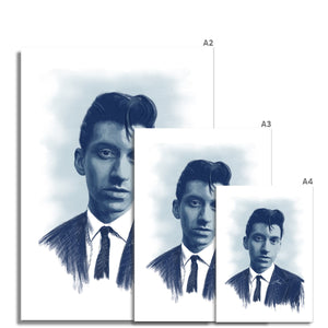 Alex Turner Portrait Fine Art Print