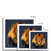 Load image into Gallery viewer, LEO the lion Fine Art Print