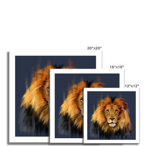 LEO the lion Fine Art Print