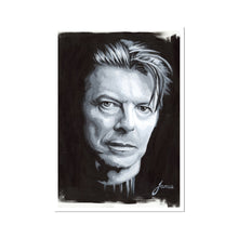 Load image into Gallery viewer, Musician David Bowie portrait fine art print