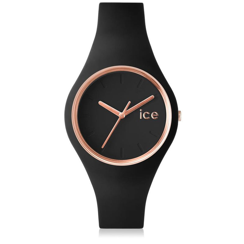 Ice Watch Horloge Ice Glam Black Rose Golden Small 000979 - dames