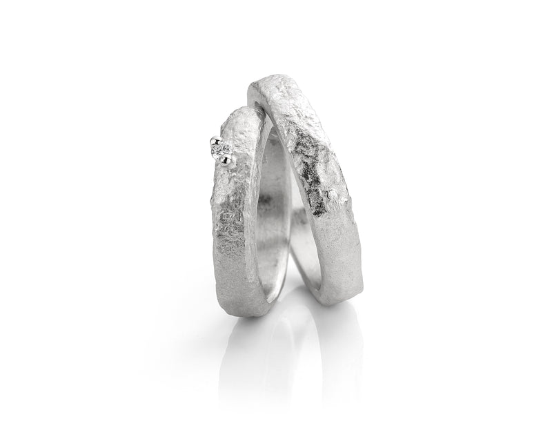 Mathisse by Stevigny Ring 130.730 - Zilver Diamant