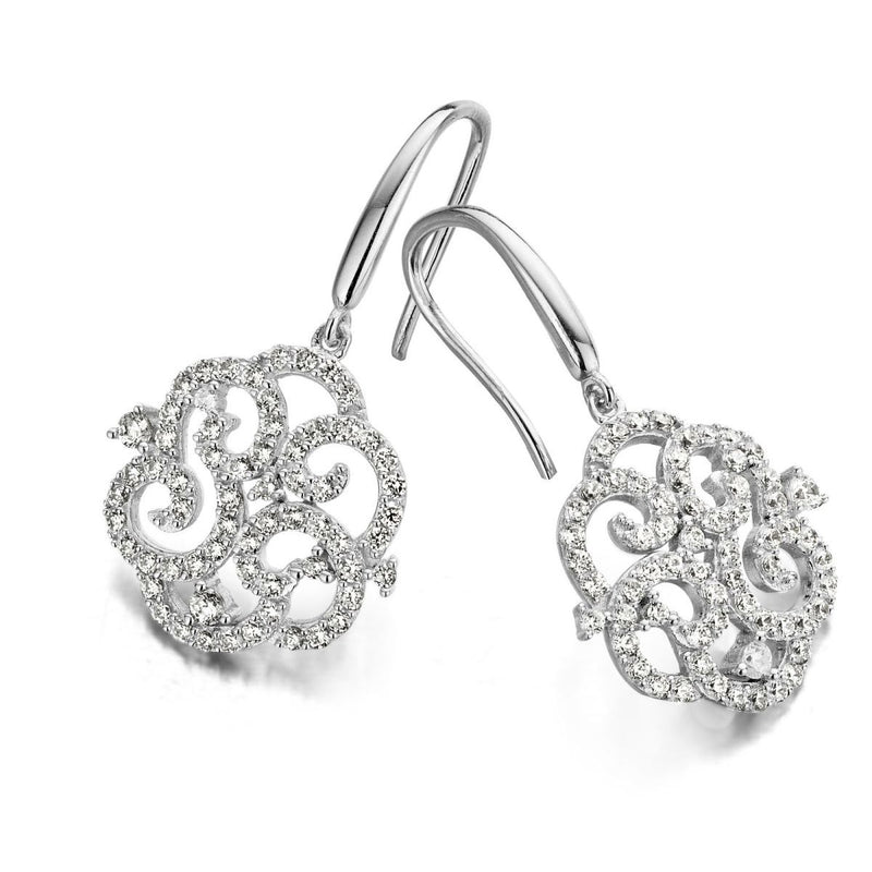 Naiomy Moments Oorhangers 151.177 - Zilver Zirkoon