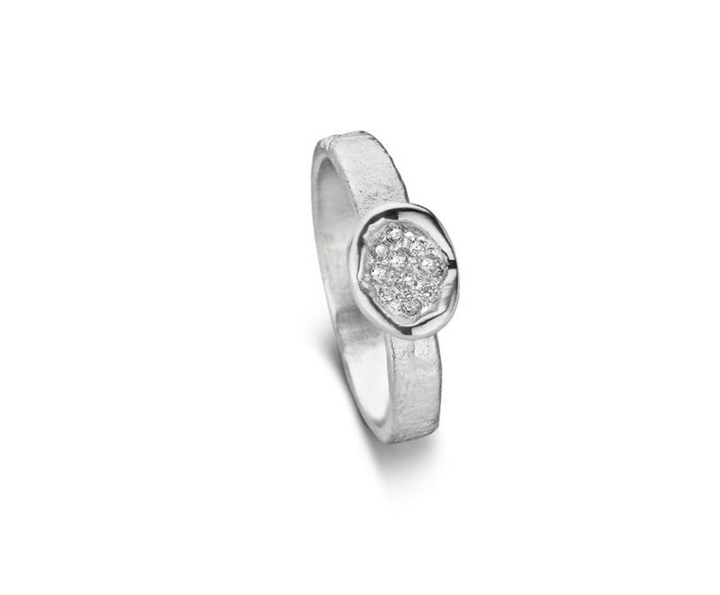 Mathisse by Stevigny Ring 170.205 - Zilver, diamant