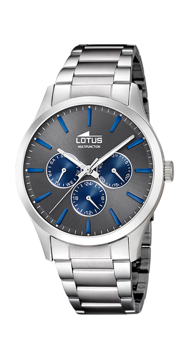 Lotus Horloge 180.528 - Heren, Stalen Band