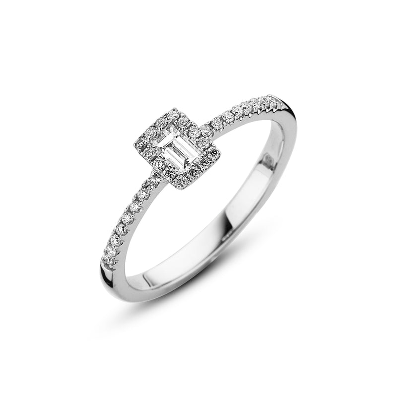 Emmilou Ring 180.585 - Wit Goud 18ct Diamant