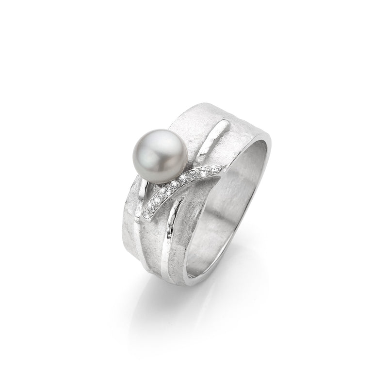 Mathisse by Stevigny Ring 180.672 - Zilver Zirkoon Cultuurparel