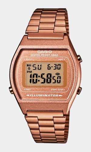 Casio Horloge B640WC-5AEF - Dames, Stalen Band