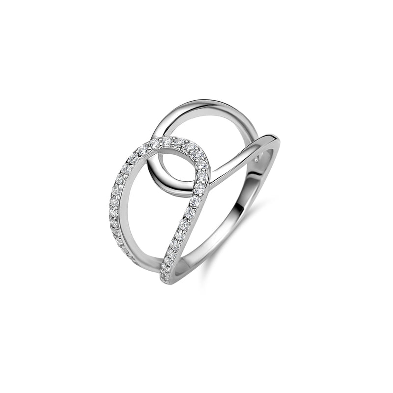 Naiomy Silver Ring 190.636 - Zilver Zirkoon