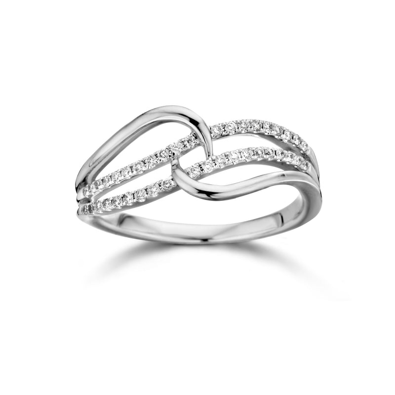Dulci Nea Ring 190.781 - Wit Goud 18ct Diamant