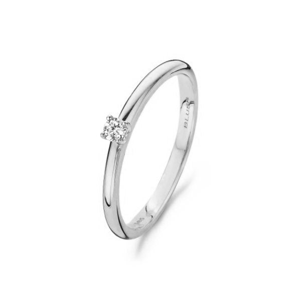 Blush Verlovingsring 200.707 - Wit Goud 14ct Diamant 0,06ct