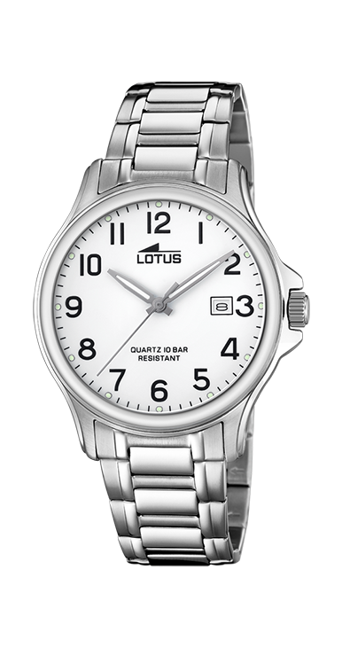 Lotus Horloge 200.567 - Heren, Stalen Band