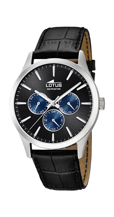 Lotus Horloge 200.572 - Heren, Lederen Band