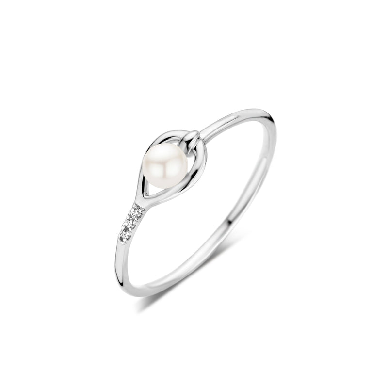 Dulci Nea Ring 200.628 - Wit Goud 9ct Diamant