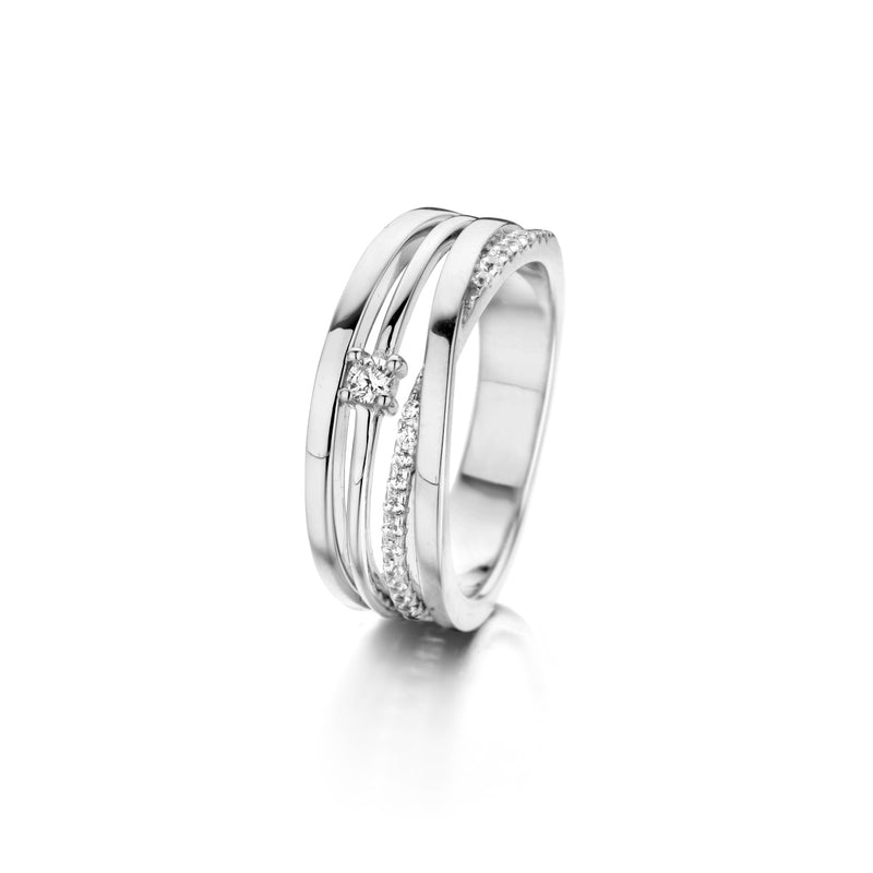 Naiomy Moments Ring 200.727 - Zilver Zirkoon
