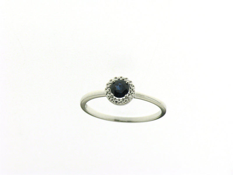 Beheyt Ring 170.852 - Wit Goud 18ct Blauwe Saffier