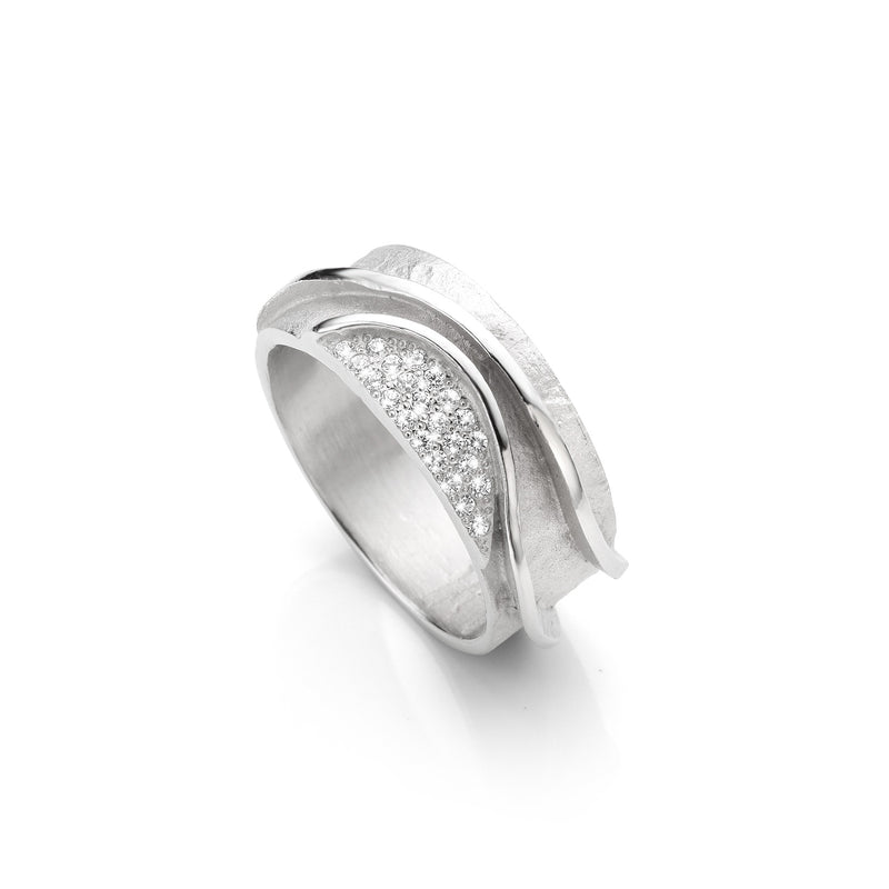 Mathisse by Stevigny Ring MBS1 - Zilver Zirkoon