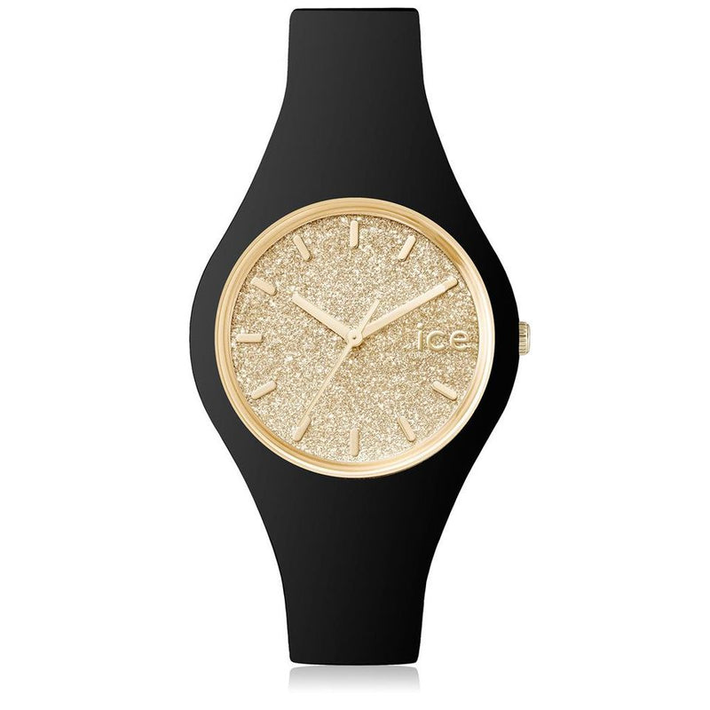Ice Watch Horloge Glitter Black Gold Small ICE.GT.BGD.S.S.15 - Dames