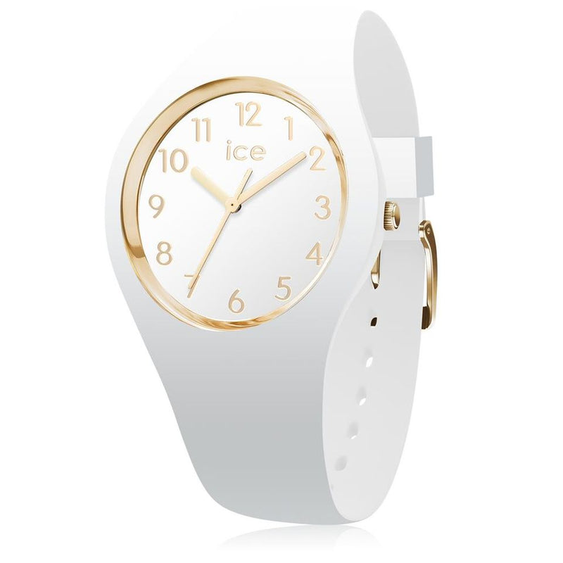 Ice Watch Horloge Ice Glam White Gold  Small 014 759 - Dames