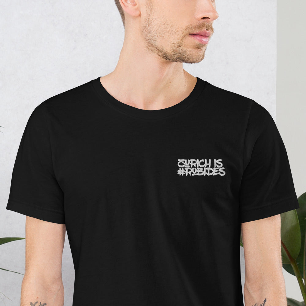 T-Shirt #WhoIsRobide's - Robide's Authentic Lifestyle- & Sportsclothing - designed in Zurich