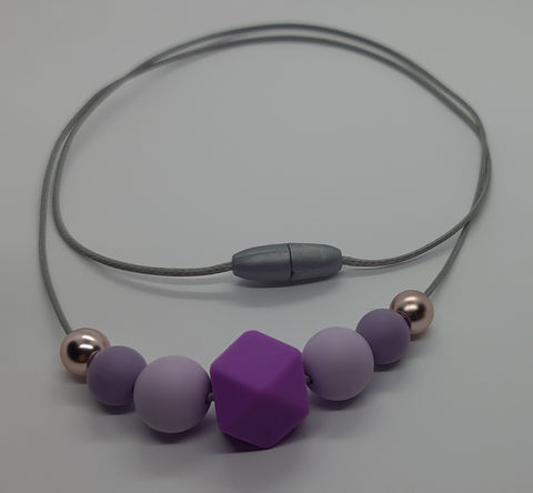 Necklace - Wild Violet - Mummy