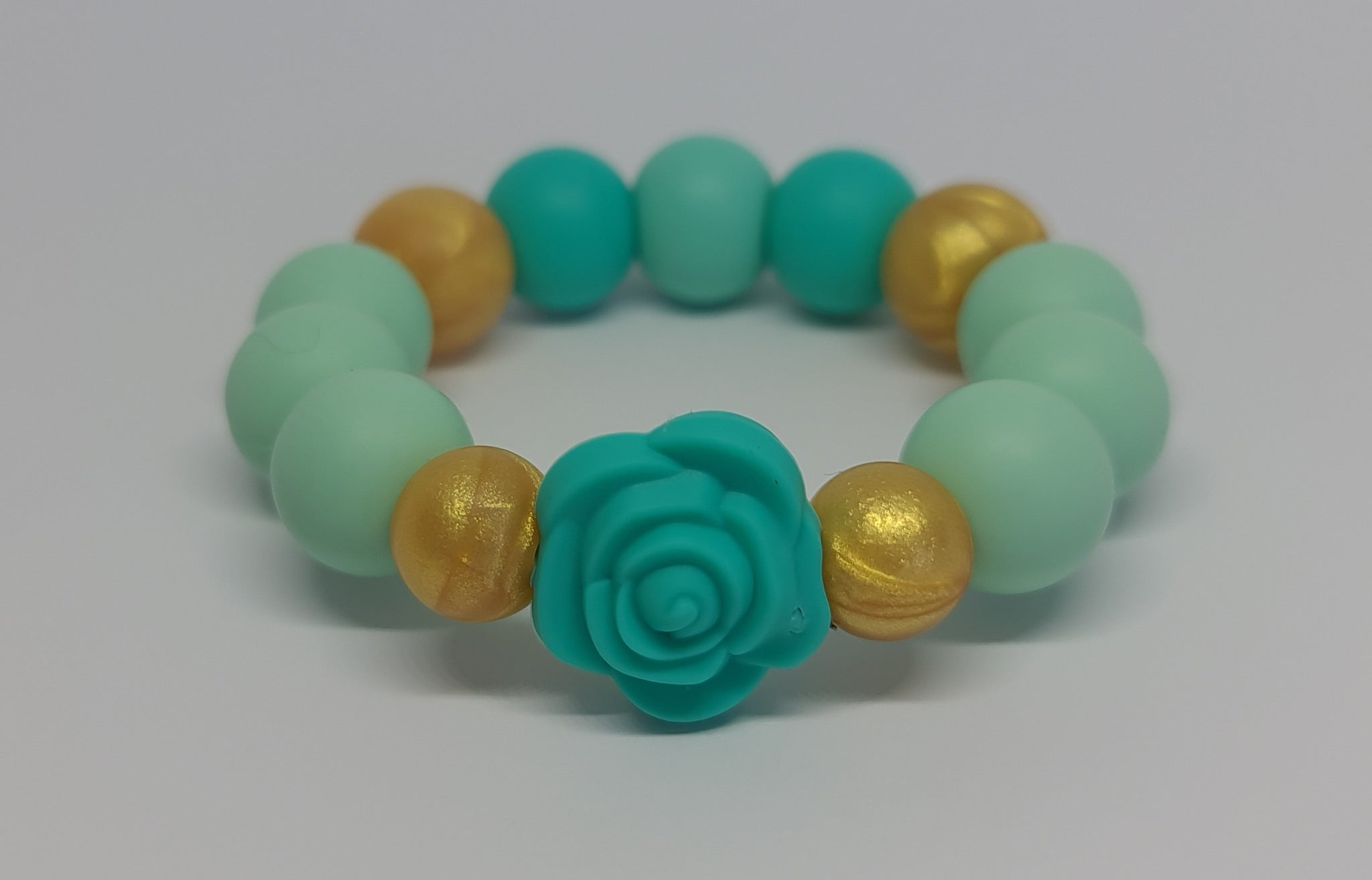 Silicone Teether Bracelet - Shelly