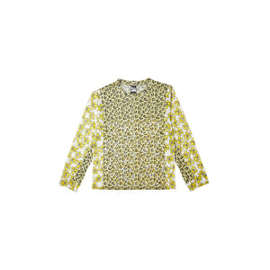 KISSING FROGS MESH LS TOP