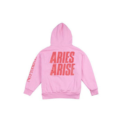 DOUBLE THICKNESS HOODIE WITH ARIES TEMPLE LOGO