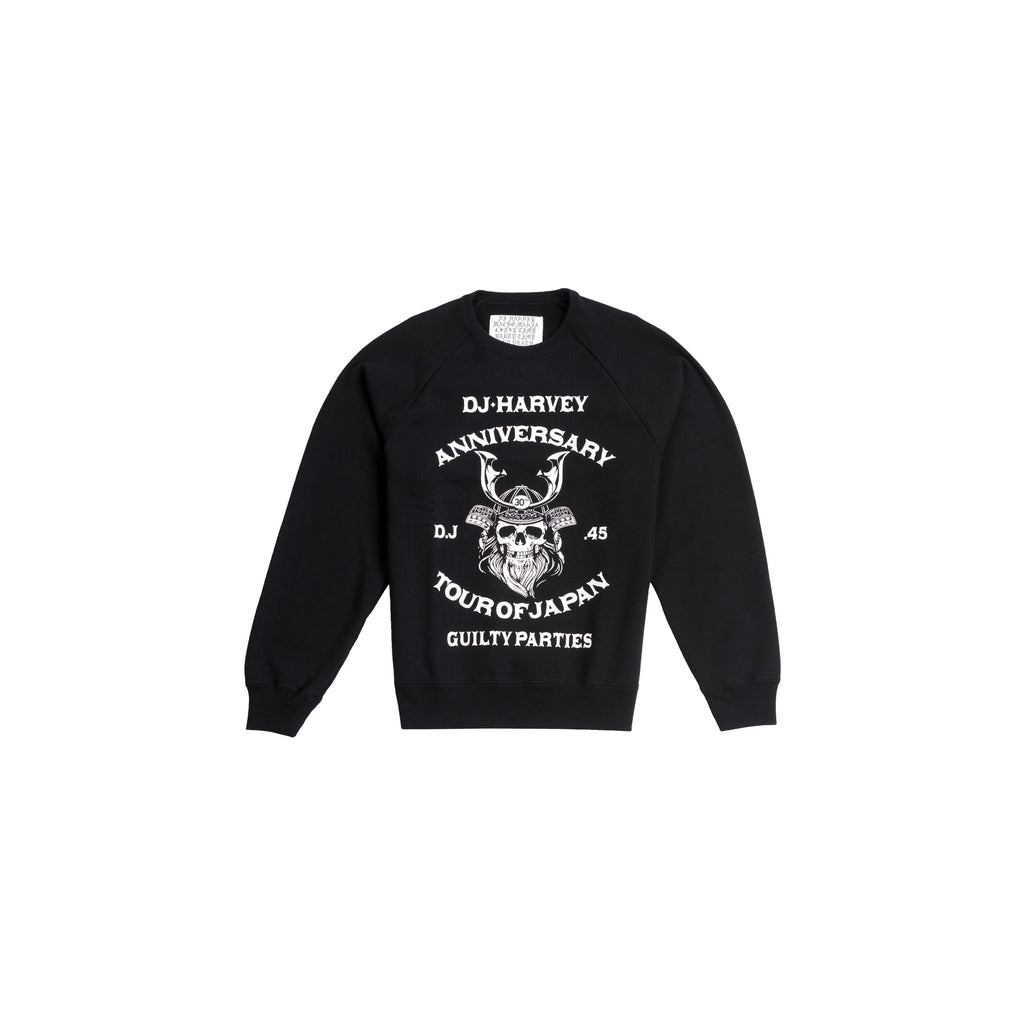 DJ HARVEY CREW NECK SWEAT SHIRT