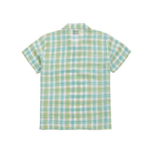 CHECKERED SHIRT IN GREEN
