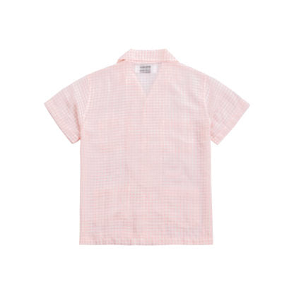 CHECKERED SHIRT IN PINK