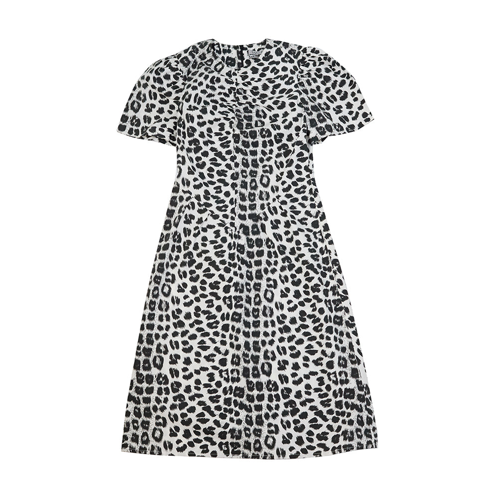 BUNNY DRESS LEOPARD