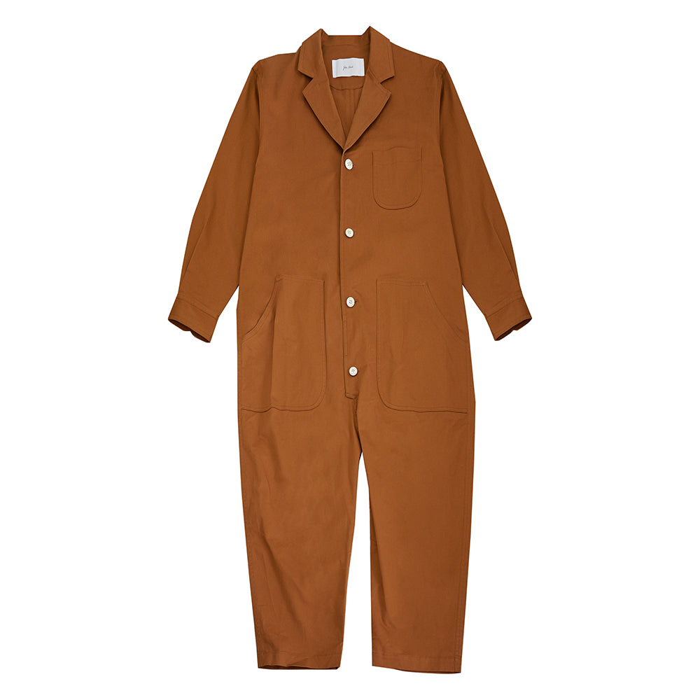 JULIEN DAVID LADY'S WOVEN JUMPSUIT