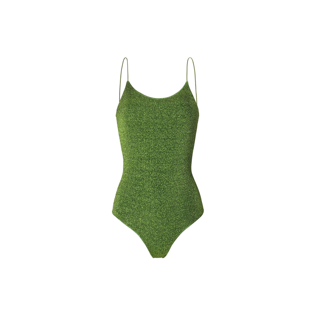 LUMIÈRE MAILLOT IN GREEN