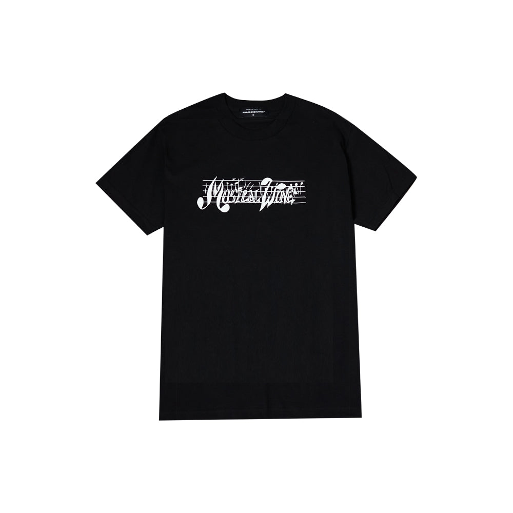MUSICAL WINE TEE BLACK