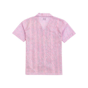 PANELED SHIRT IN PINK