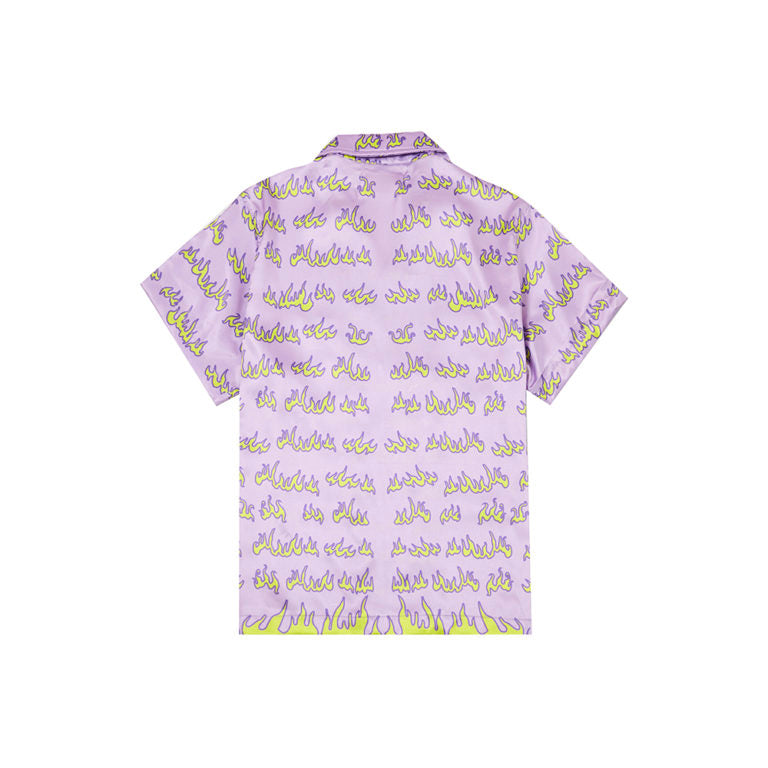 FLAME SHIRT IN PURPLE