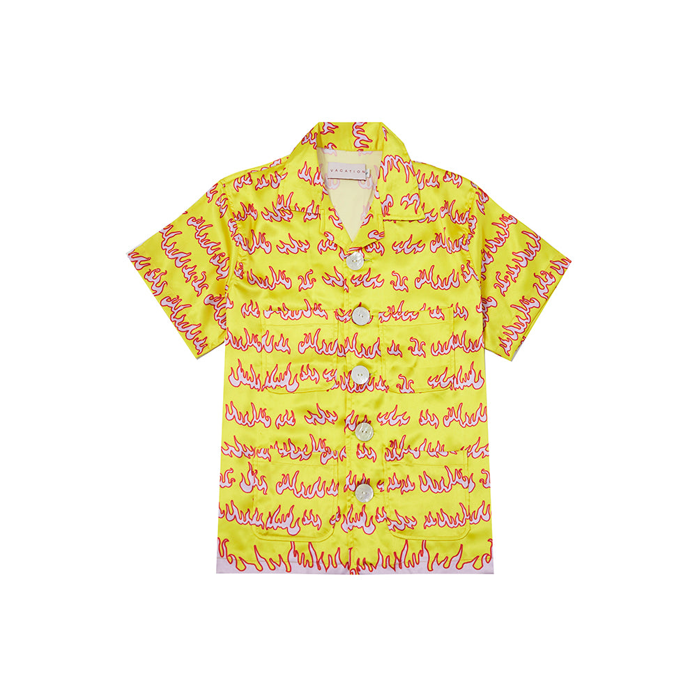 FLAME SHIRT IN YELLOW