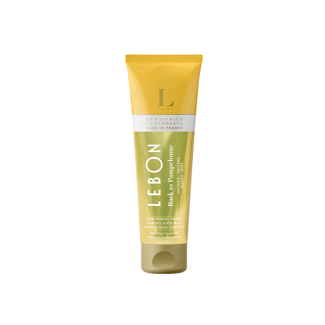 Natural Whitening Toothpaste (Fluoride Free) by LEBON | Nourish HK