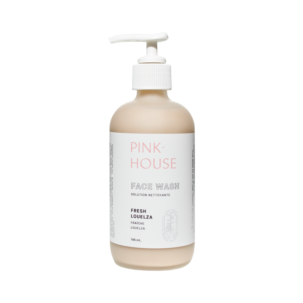 Louelza Face Wash by Pink House | Nourish the Clean Beauty Platform
