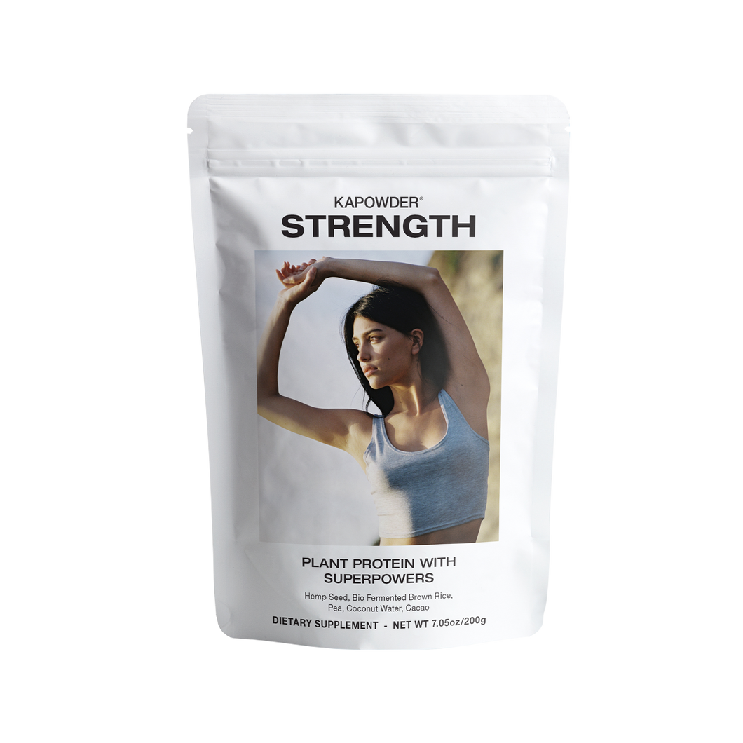 STRENGTH (Chocolate Favor) by Kapowder | Nourish Clean Beauty