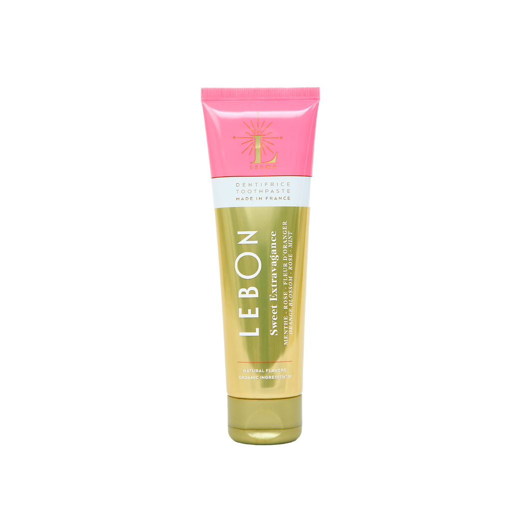 Sweet Extravagance (Natural Fluoride-Free) Toothpaste by LEBON | Nourish Clean Beauty