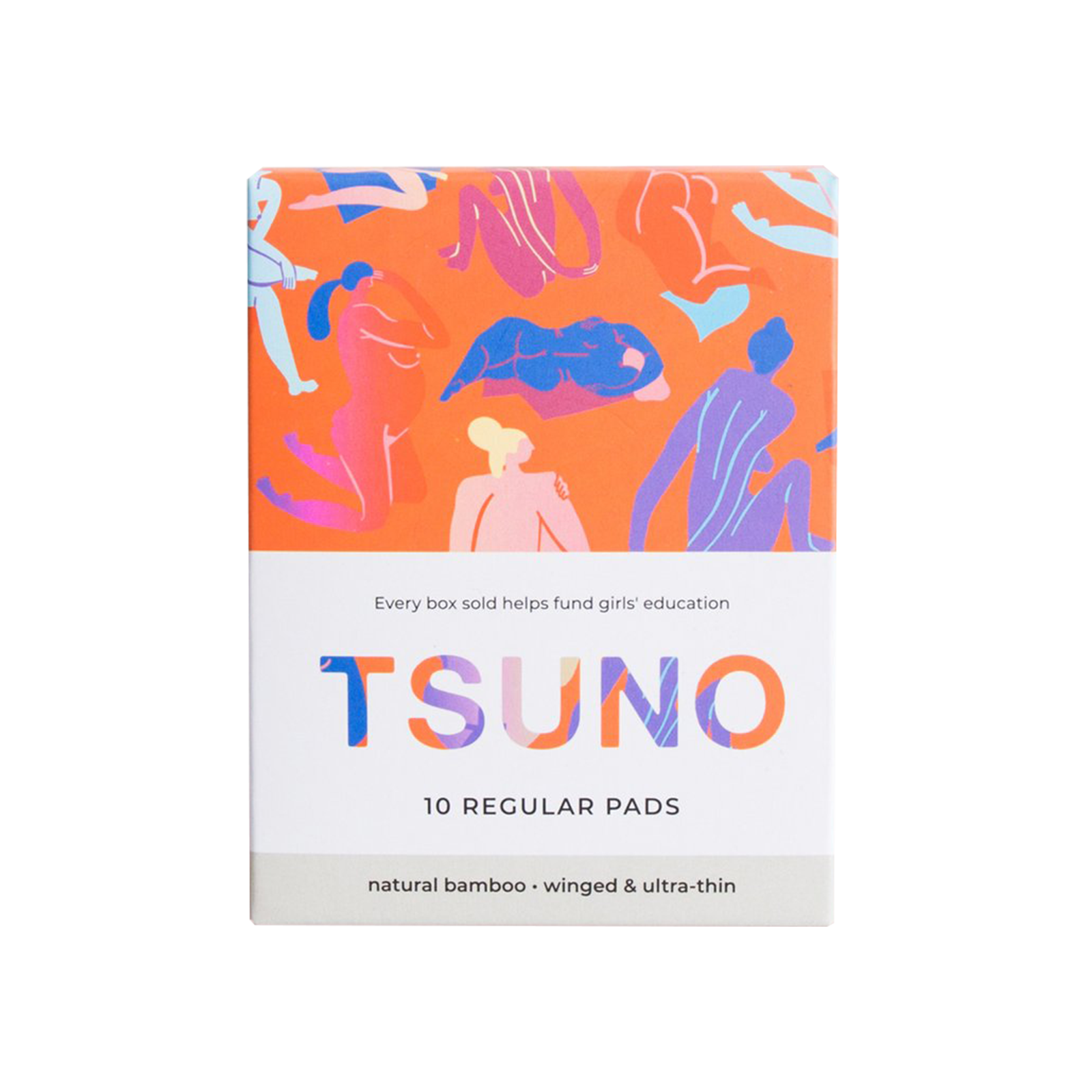 Regular Pads by TSUNO | Nourish Clean Beauty Hong Kong