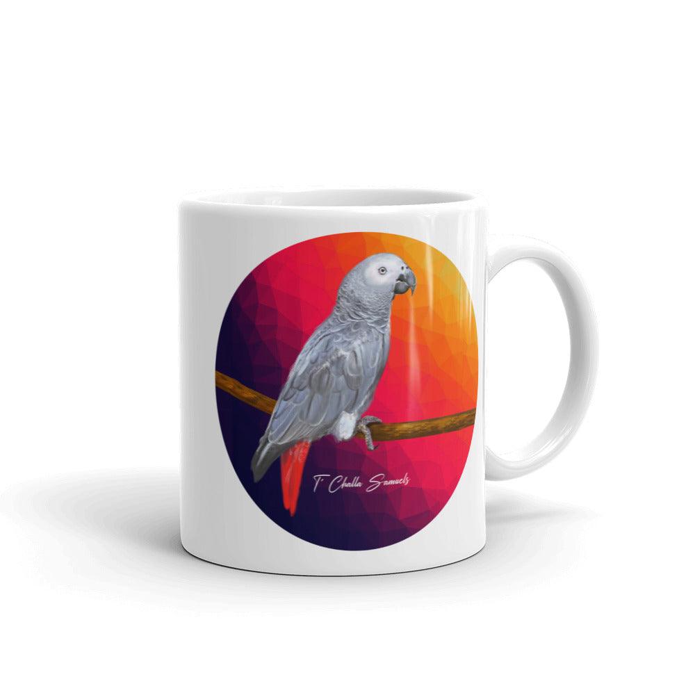 T'Challa The Parrot Signature Mug