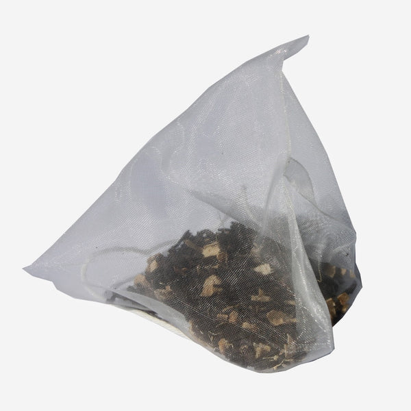 Icewine pyramid tea bag