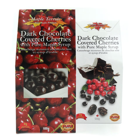 Dark Chocolate Covered Cherry & Pure Maple Syrup 100g