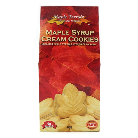 Maple Syrup Cream Cookies 60g