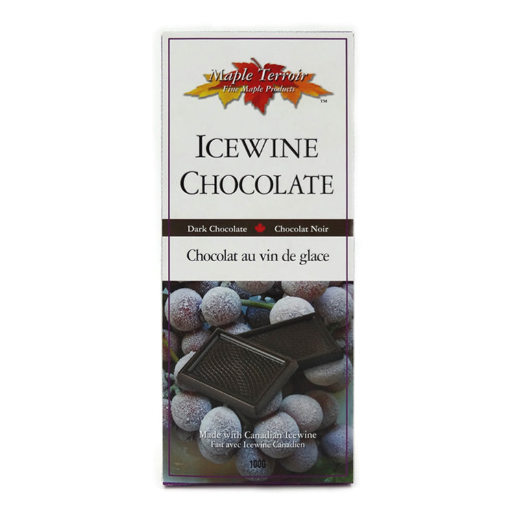 Icewine Dark Chocolate Bar Maple Terroir