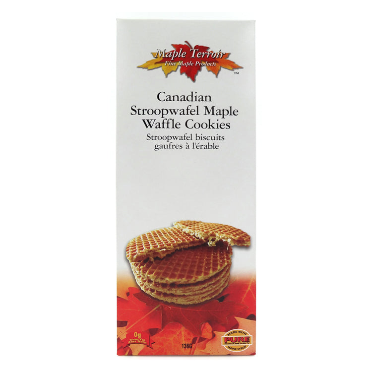 Maple Stroopwafel Waffle Cookies Maple Terroir
