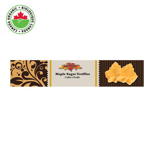 Organic Maple Sugar Truffles 4 pieces Maple Terroir